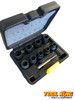 10pc Twist Nut Socket Set Damaged broken bolt remover Extractor  Easy Out