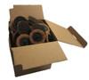 """2"""" 50mm x  50pcs Scotchbrite ROLOC quick change surface conditioning discs BROWN Course"""