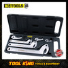 KC TOOLS  3pc C wrench set hook and pin CRV professional