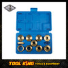 10pc Router bit template guide kit CARBITOOL