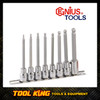 8pc INHEX Hex Key socket set Extra long  MET GENIUS TOOLS