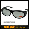 Safety glasses with Magnified lens  +2.0