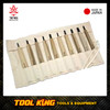 Wood carving whittling chisel set Kanetsune Made in Japan