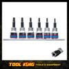 6pc Torx Plus 5 point socket set KING TONY professional