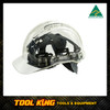 Hard Hat Clearview  vented Clear Australian Made