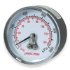 Air compressor Gauge Rear entry Jamec Pem