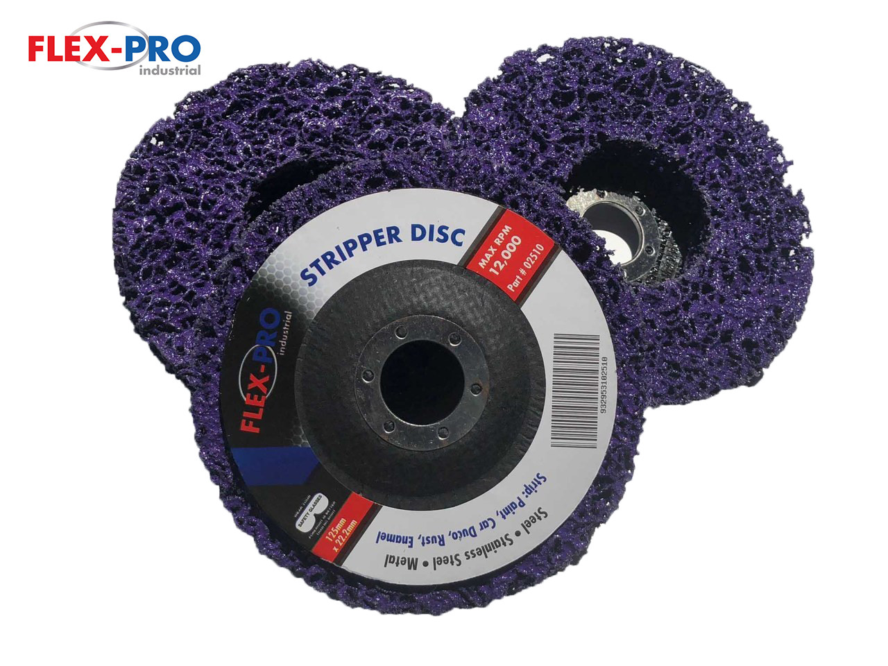 """Stripper discs  paint remover disc 5"""" (125mm) x 3pc pack TRADE QUALITY"""