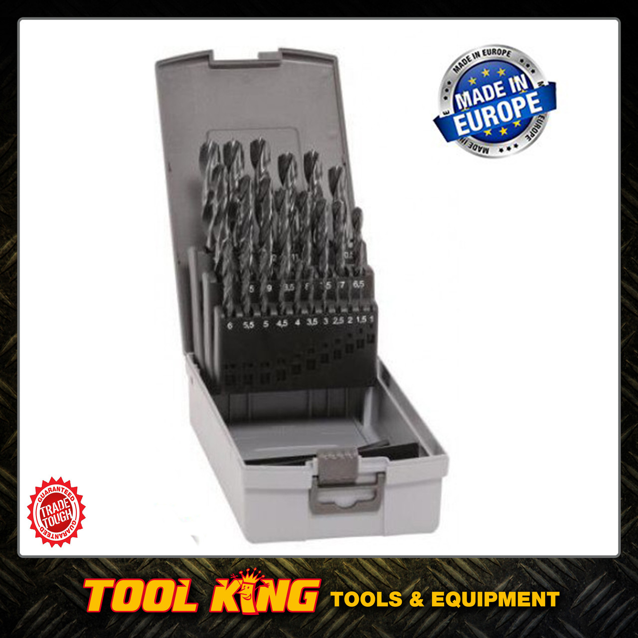 25pc Drill bit set Made in Austria INDUSTRIAL QUALITY