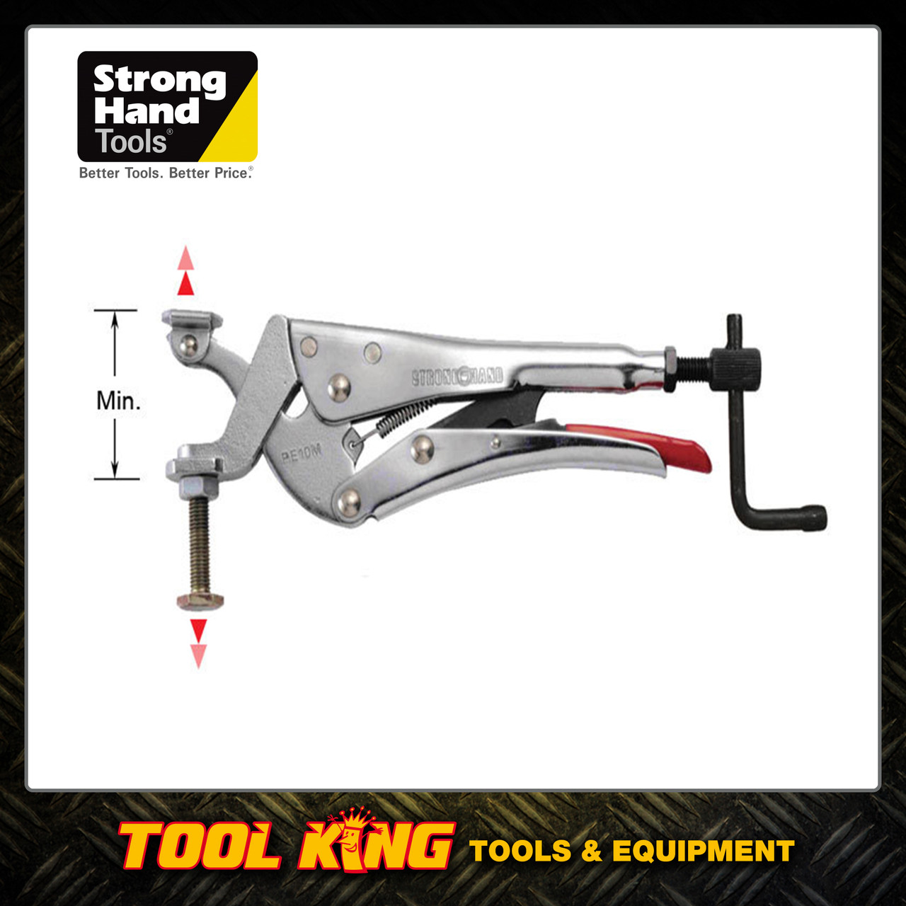 Expanding locking pliers Stronghand