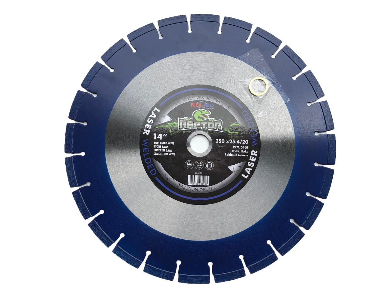 "Diamond saw Blade 14"" segmented superior quality"