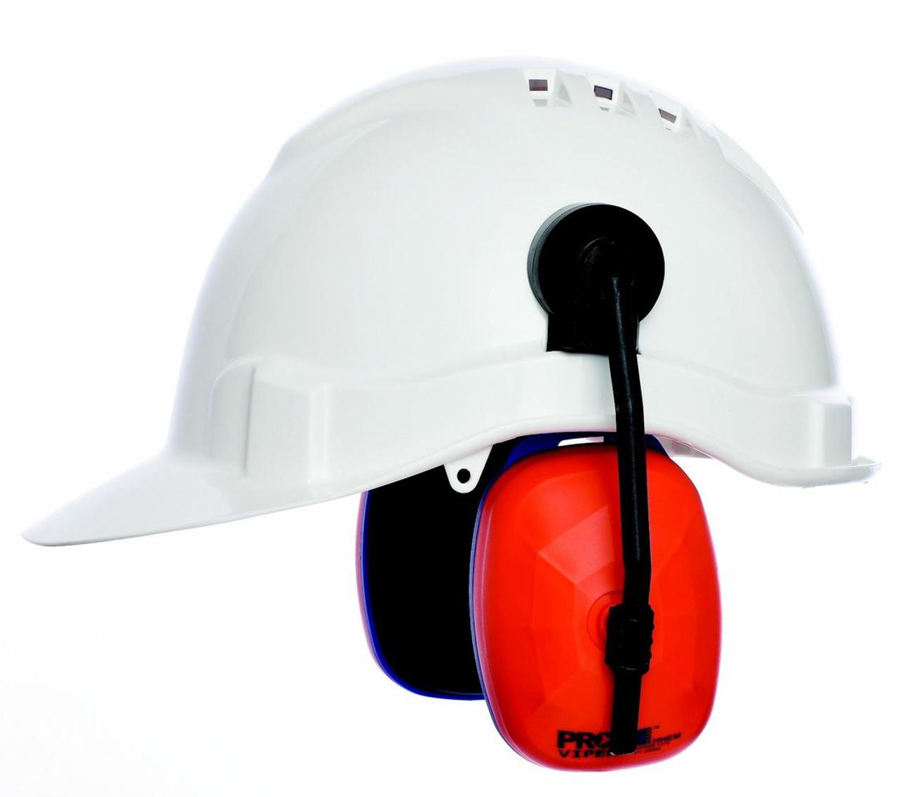 EAR MUFFS  clip on design to suit Hard Hats. Australian Standard