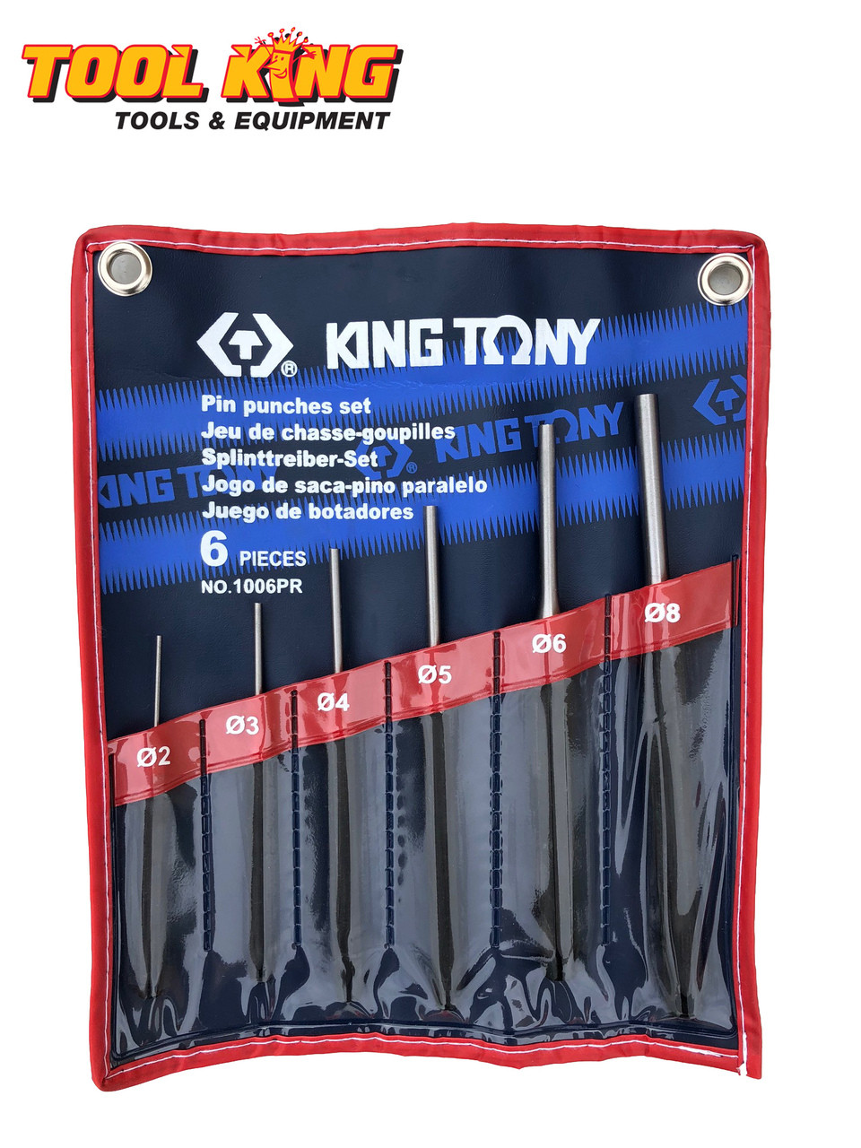 Also available in clear front tool roll