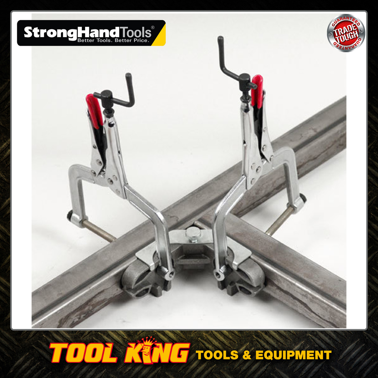 Welders clamp pliers 90 degree angle setting  Stronghand