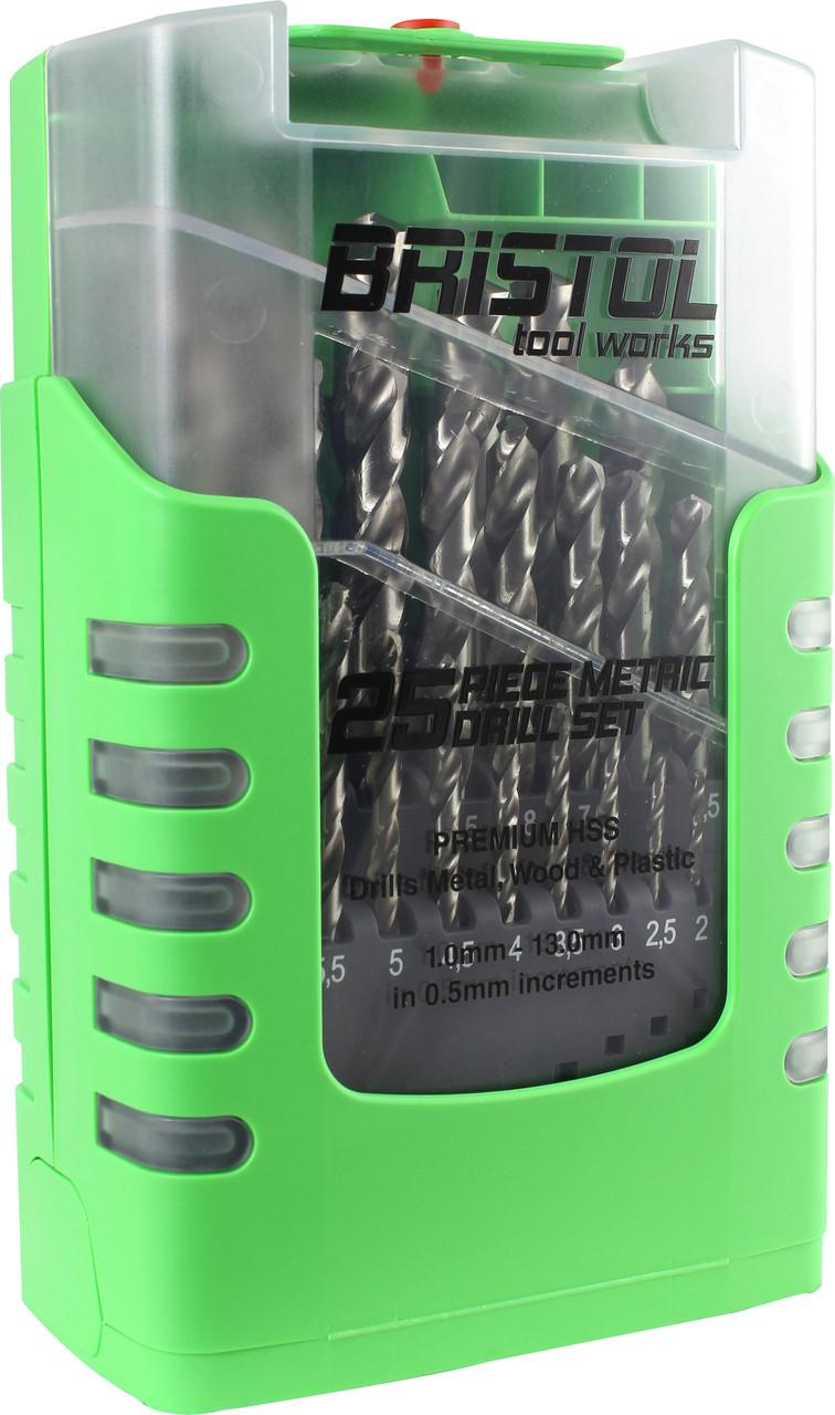 Drill Bit Set HSS 25pc Metric