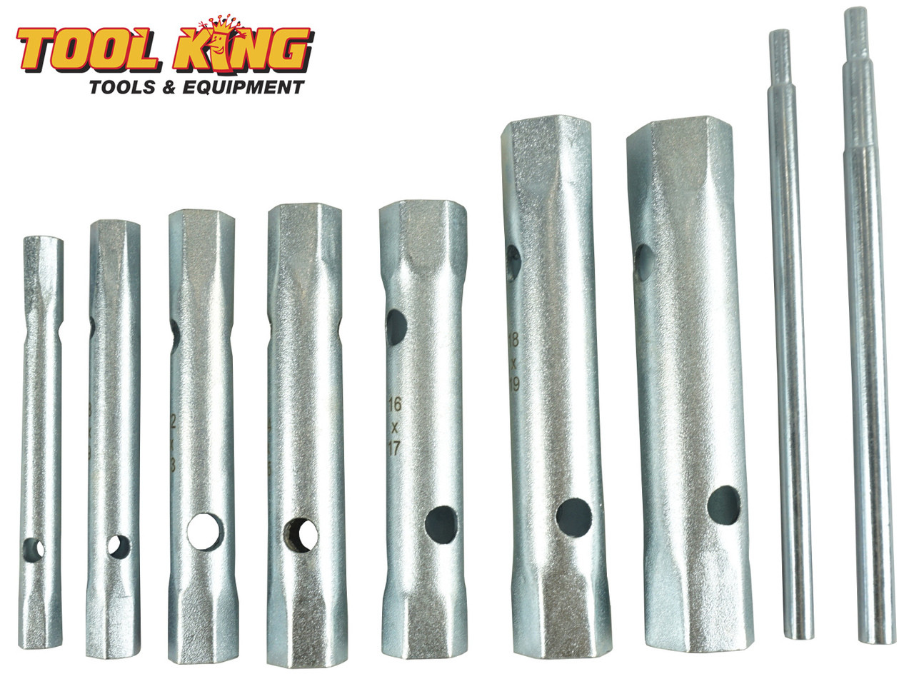 10pc Tap tube spanner set 6 to 21mm