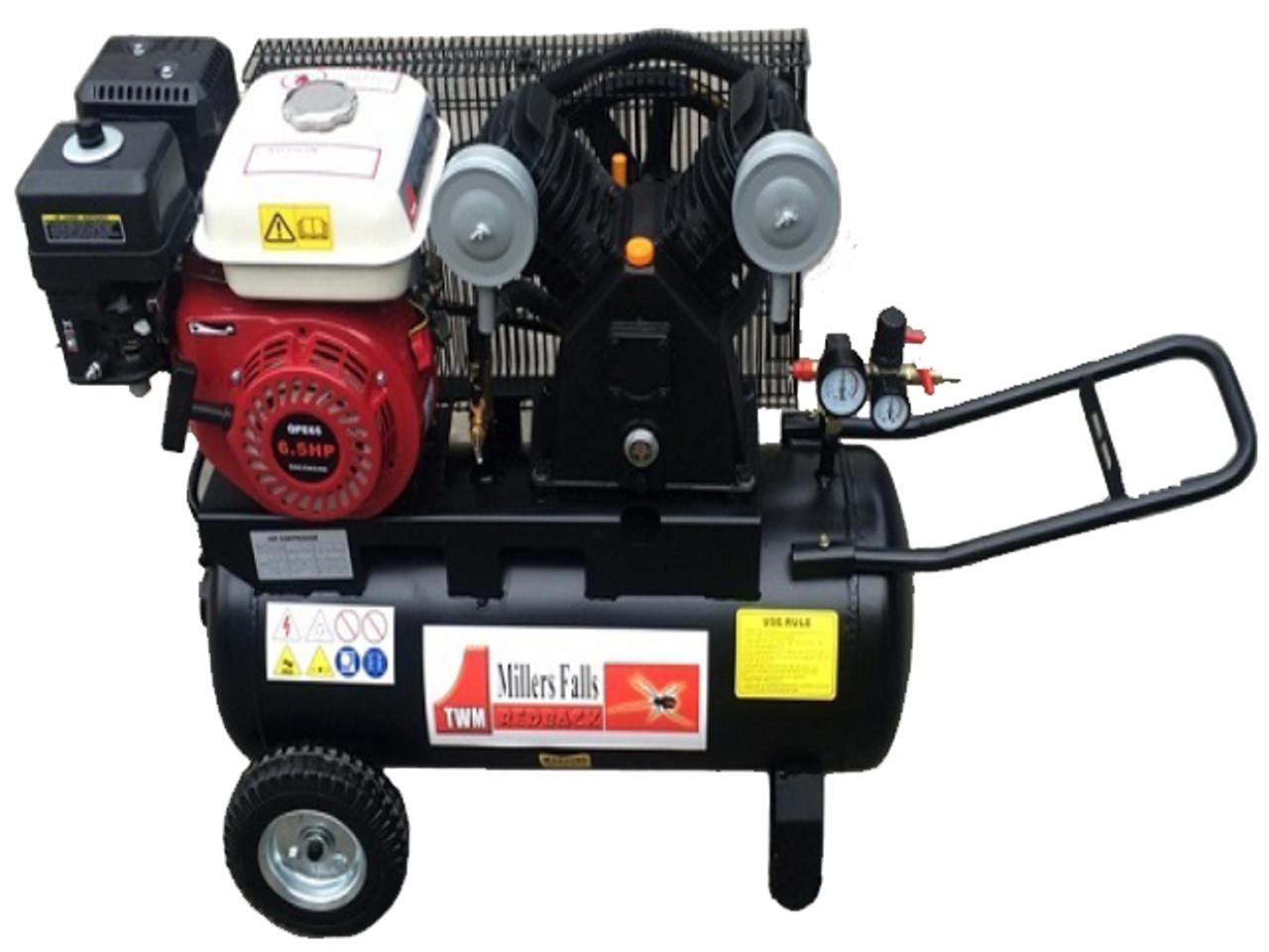 Petrol powered Air Compressor 6.5hp