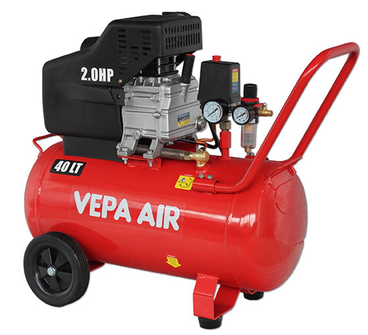 Air Compressor 40 litre Direct drive VEPA