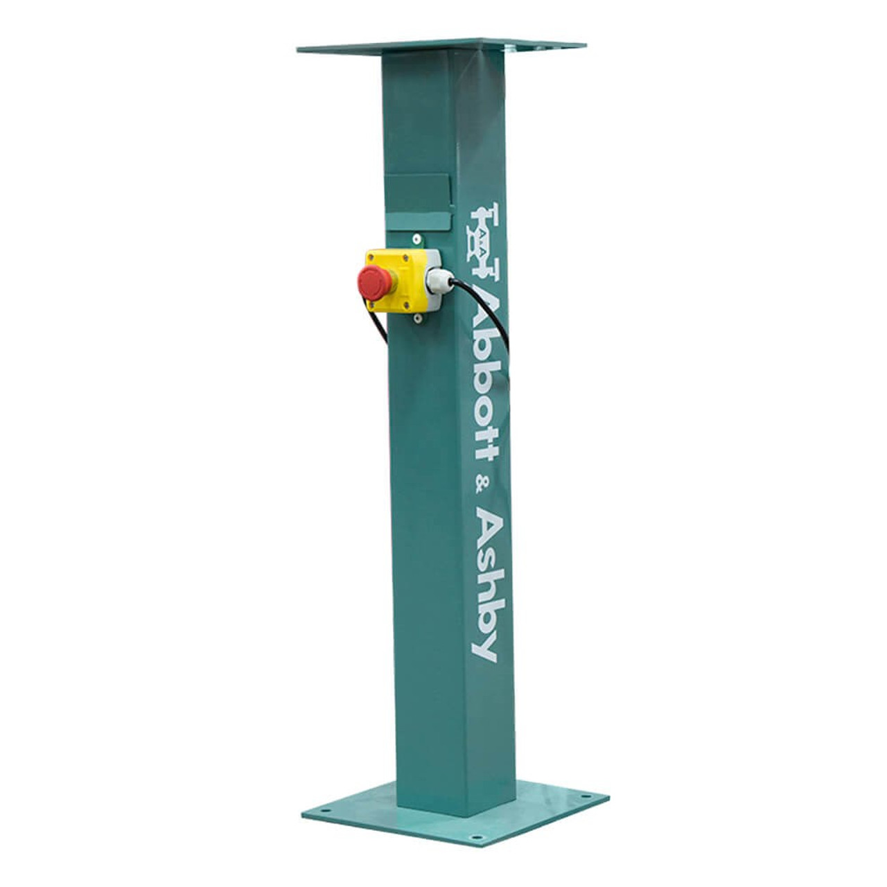 Bench grinder stand with stop button Abbott & Ashby