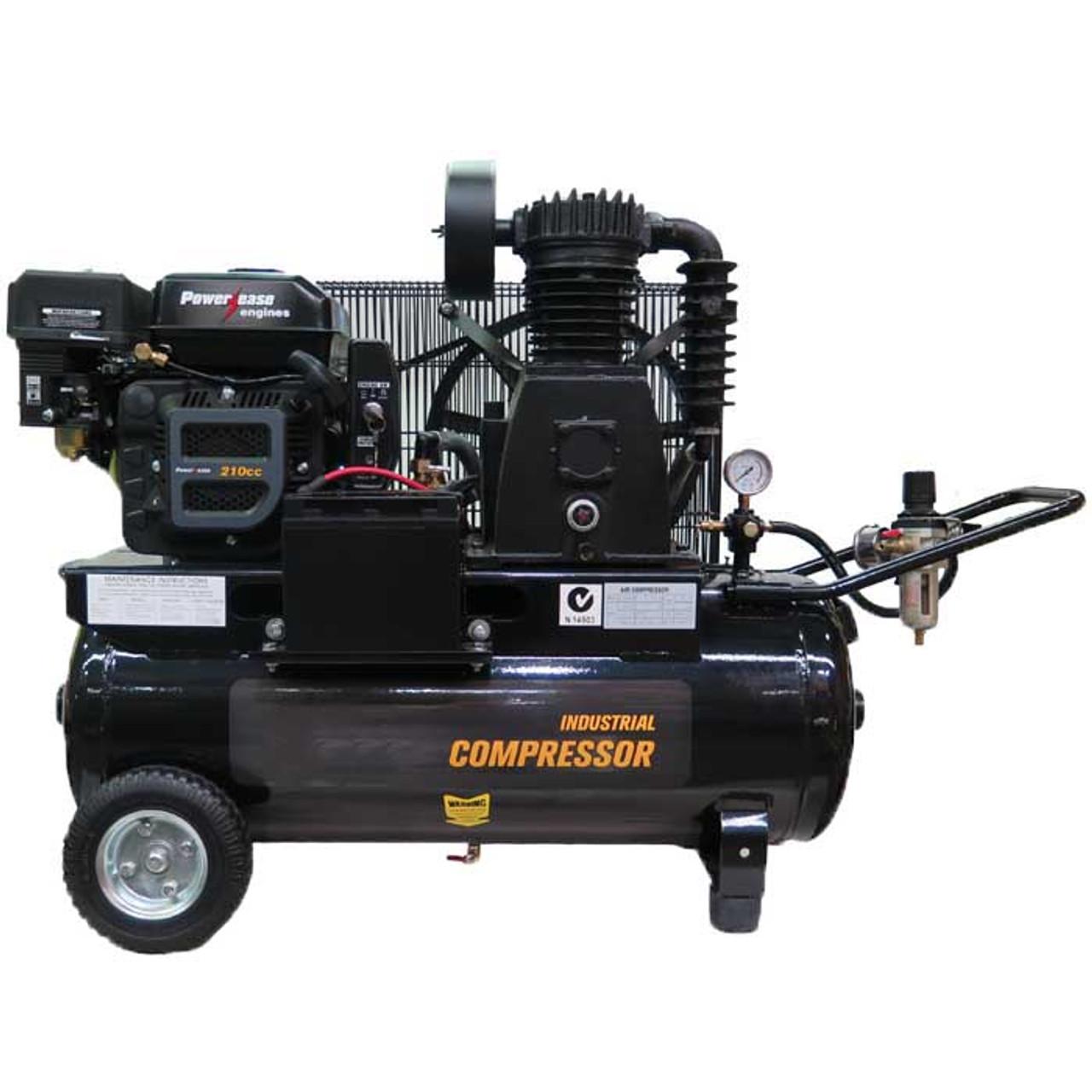 Compressor  70 litre Petrol powered Professional BE