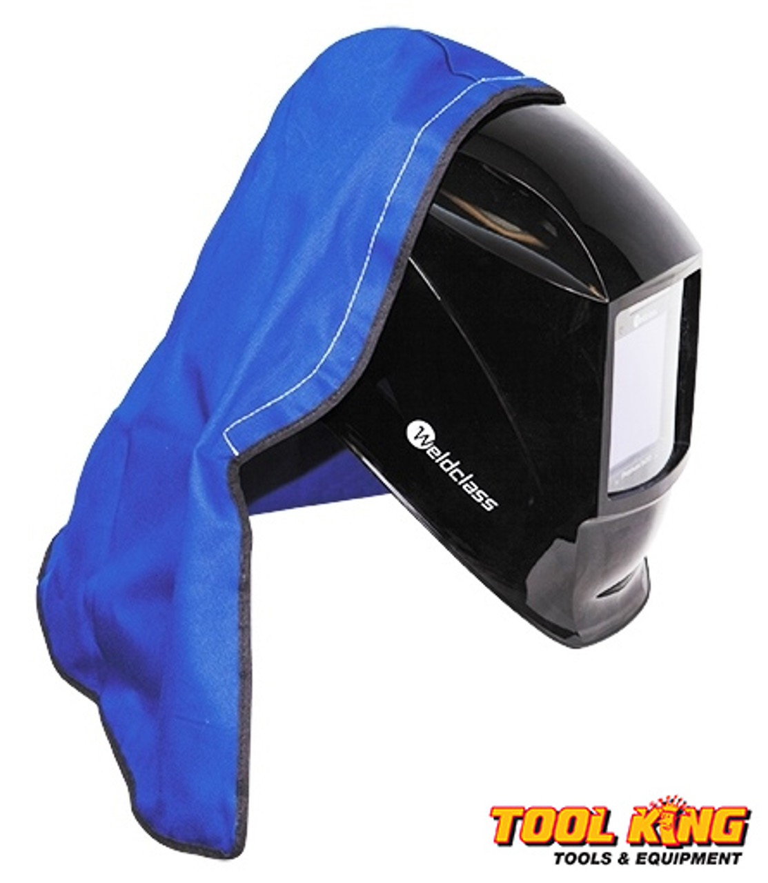 Welders Helmet Hood with self sticking Hook & Loop Weldclass