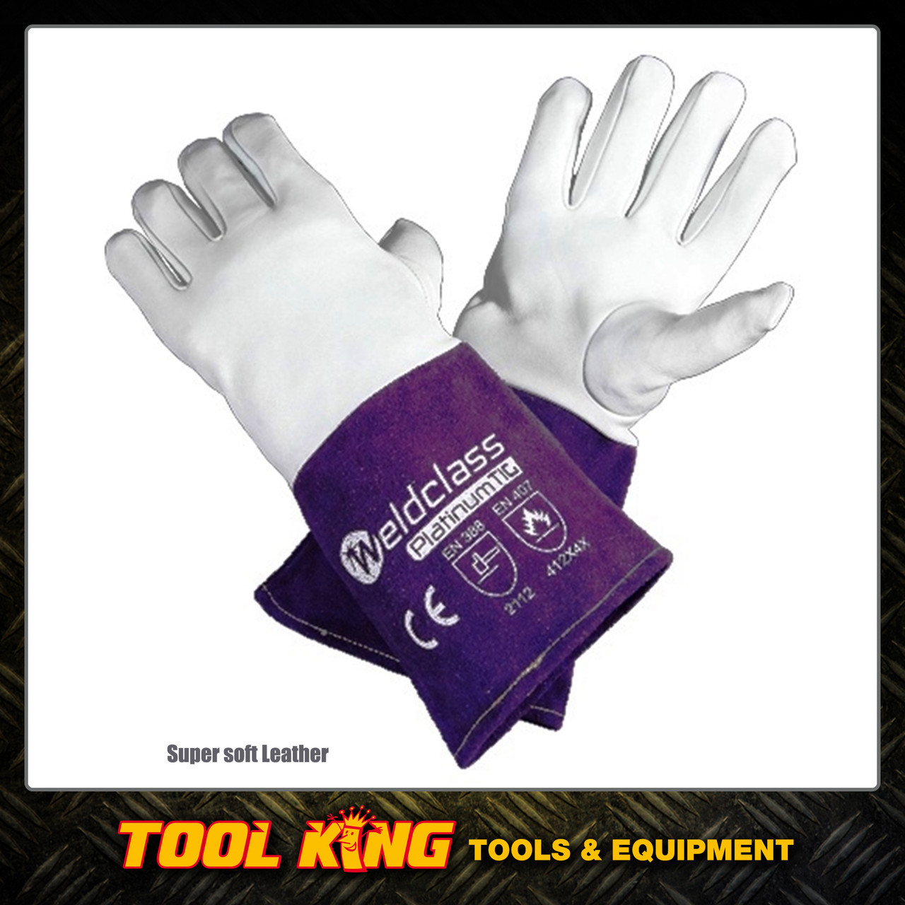 Tig Welders Gloves Platinum Soft Skin Leather Kevlar Stitched Weldclass Robson S Tool King Store