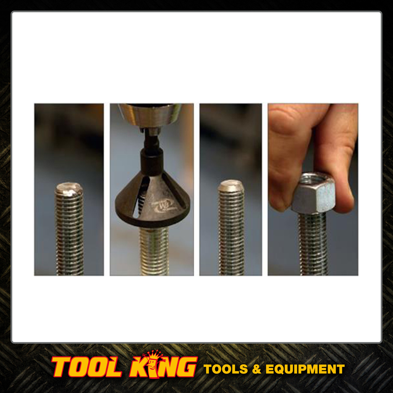 Chamfer pro Bolt and threaded rod Deburring tool PROFESSIONAL 2-12mm