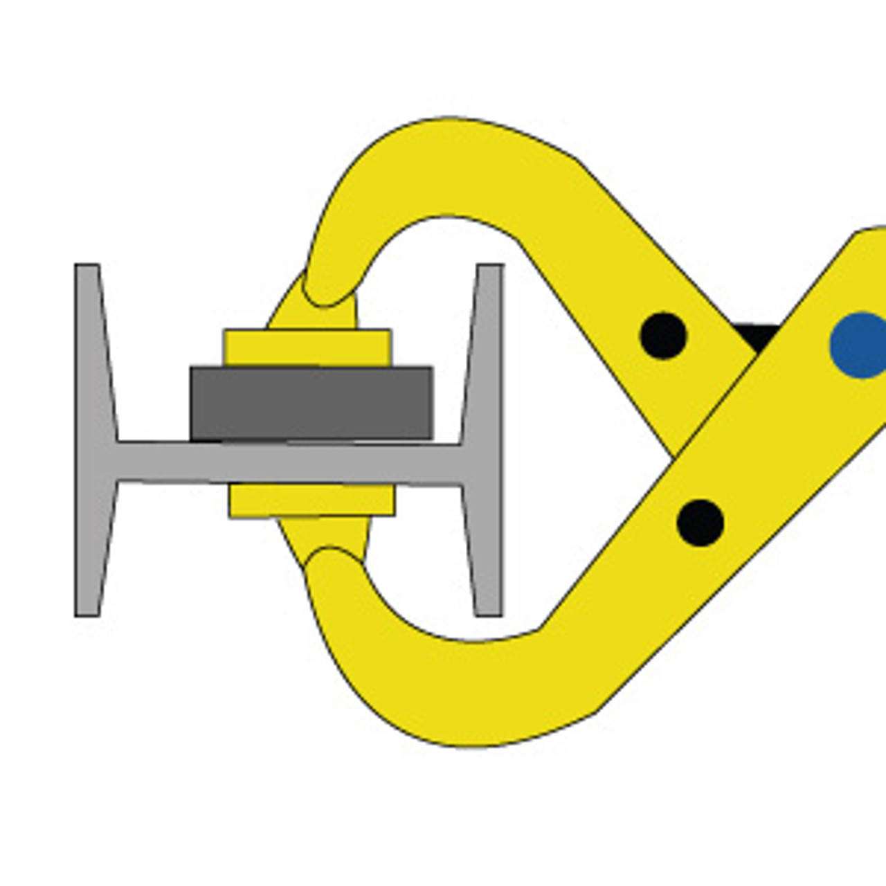 SHARK CLAMP  Quick action larger model 165mm SC65