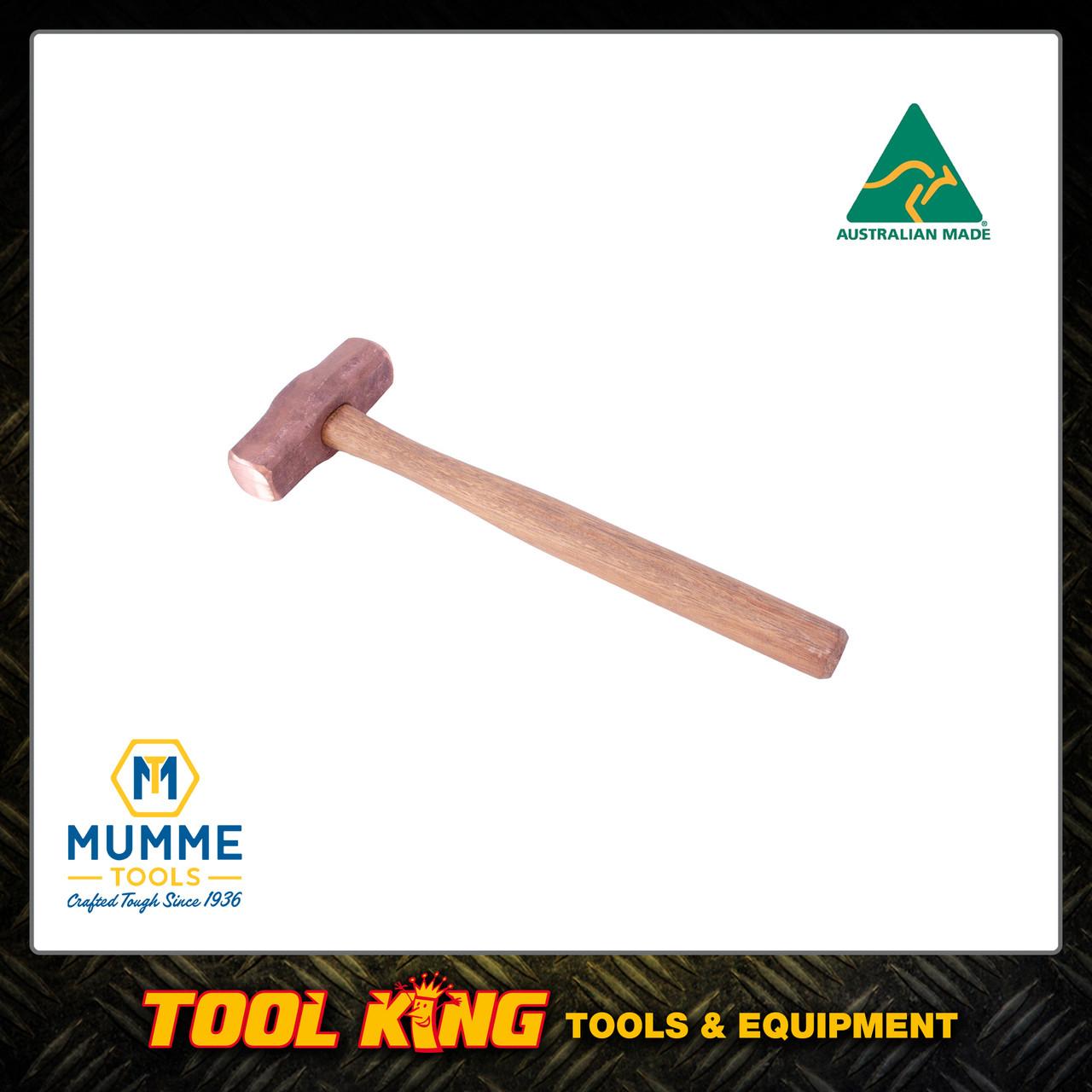 Copper hammer 2lb MUMME Australian made