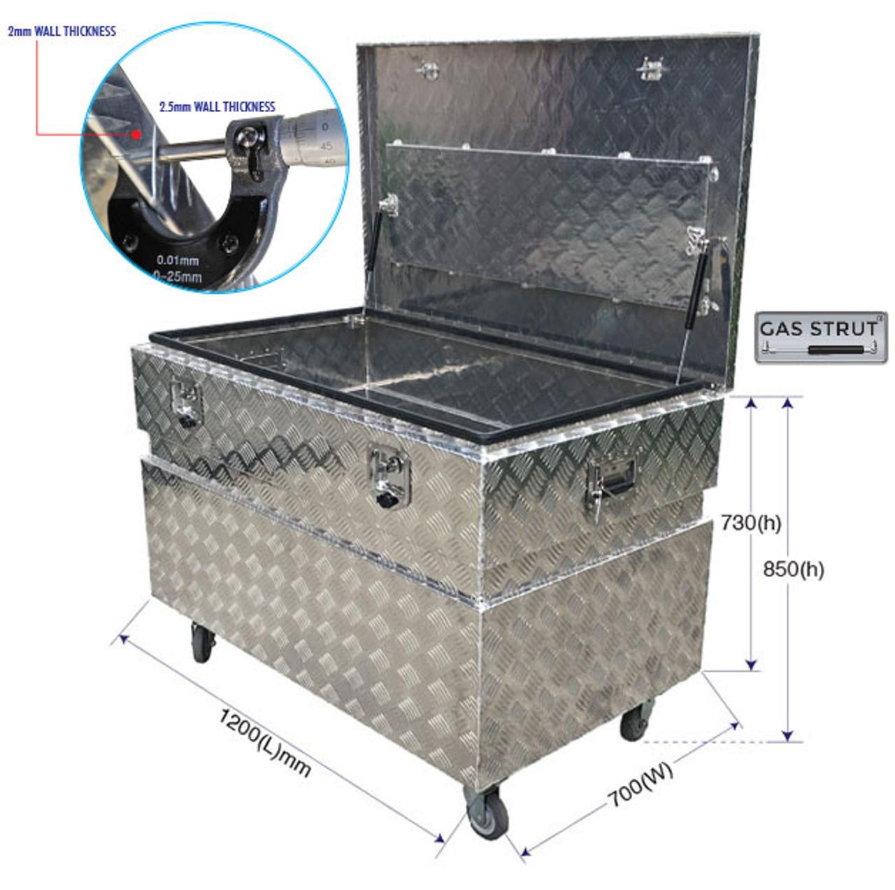 Site Tool Box aluminium  1200