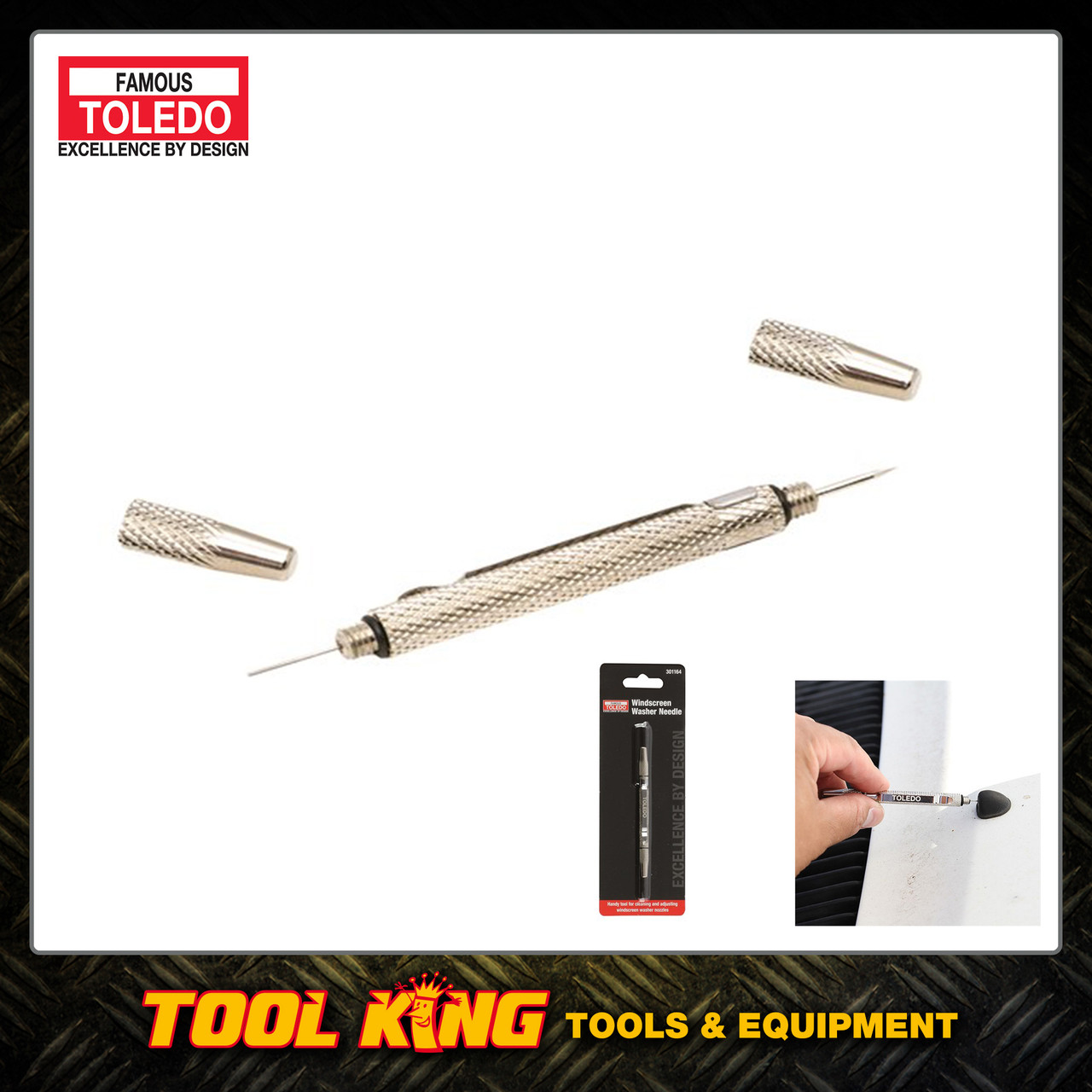 Windscreen wiper jet tool TOLEDO professional