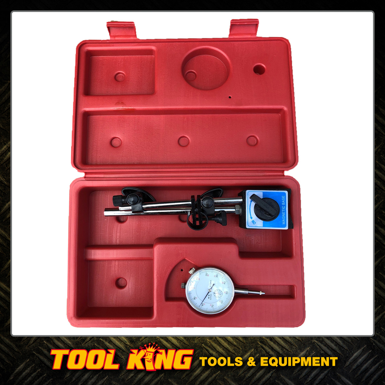 Dial Indicator and Magnetic Base set