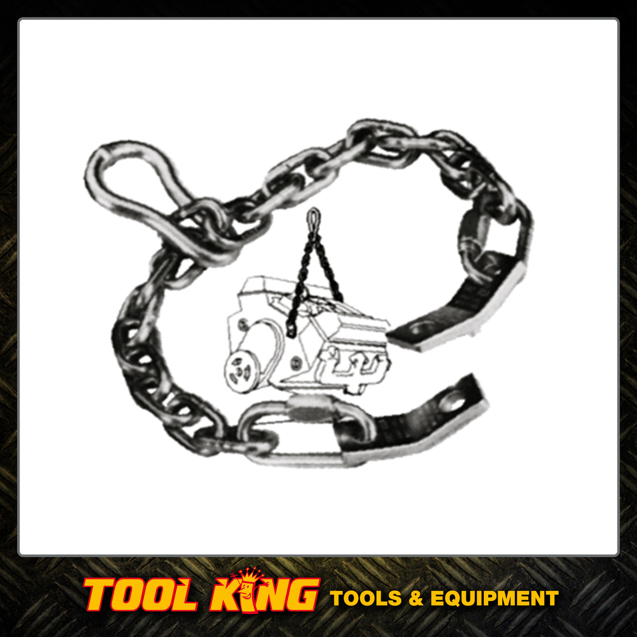 Engine Transmission lifting chain 500kg T&E Tools