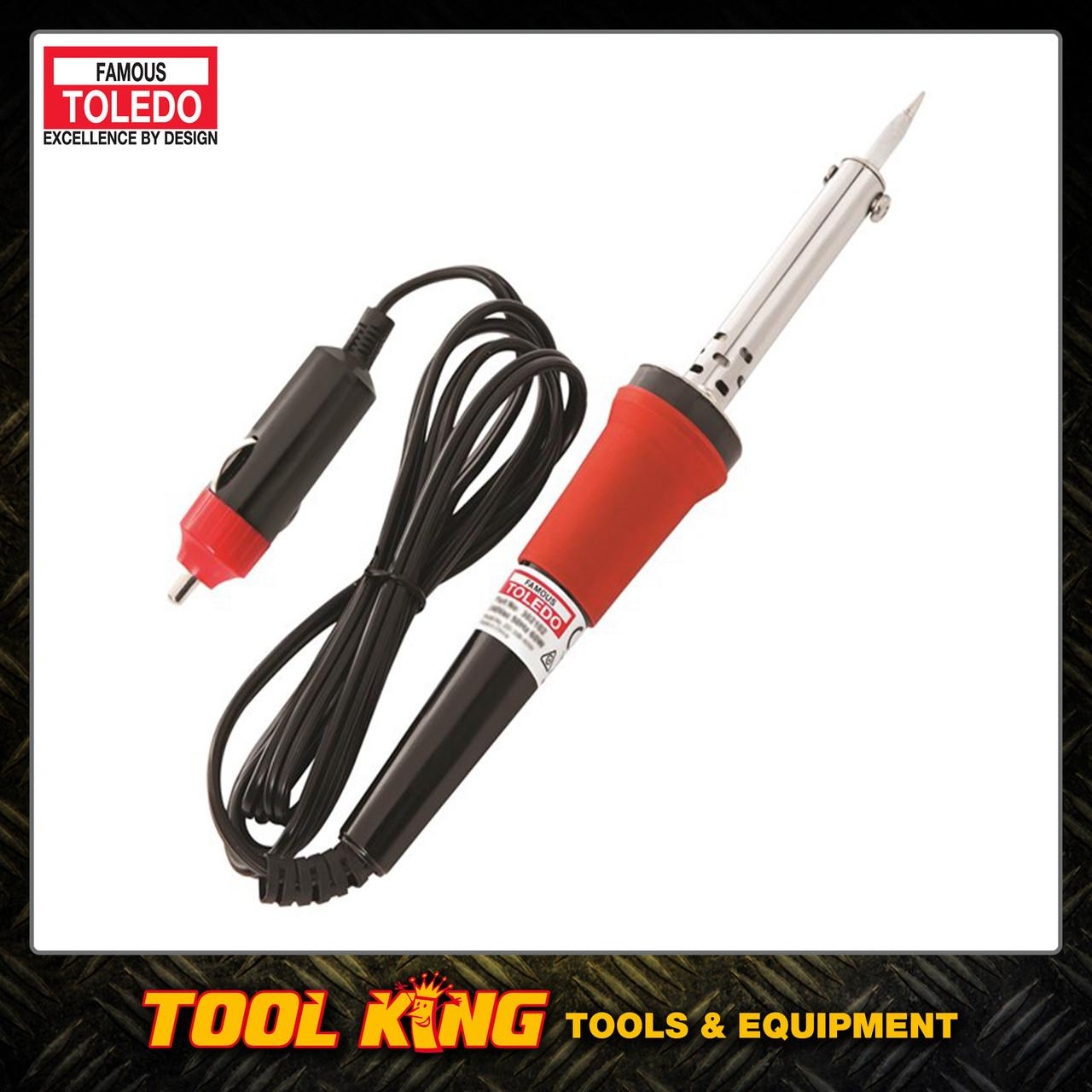 Soldering iron 12Volt Dc 30watt TOLEDO professional