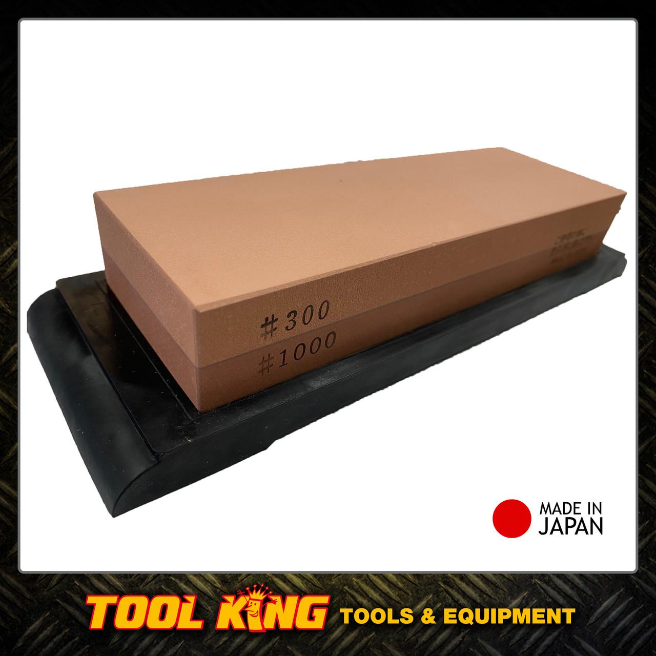 Japanese sharpening whetstone 300 & 1000g fine Made in Japan