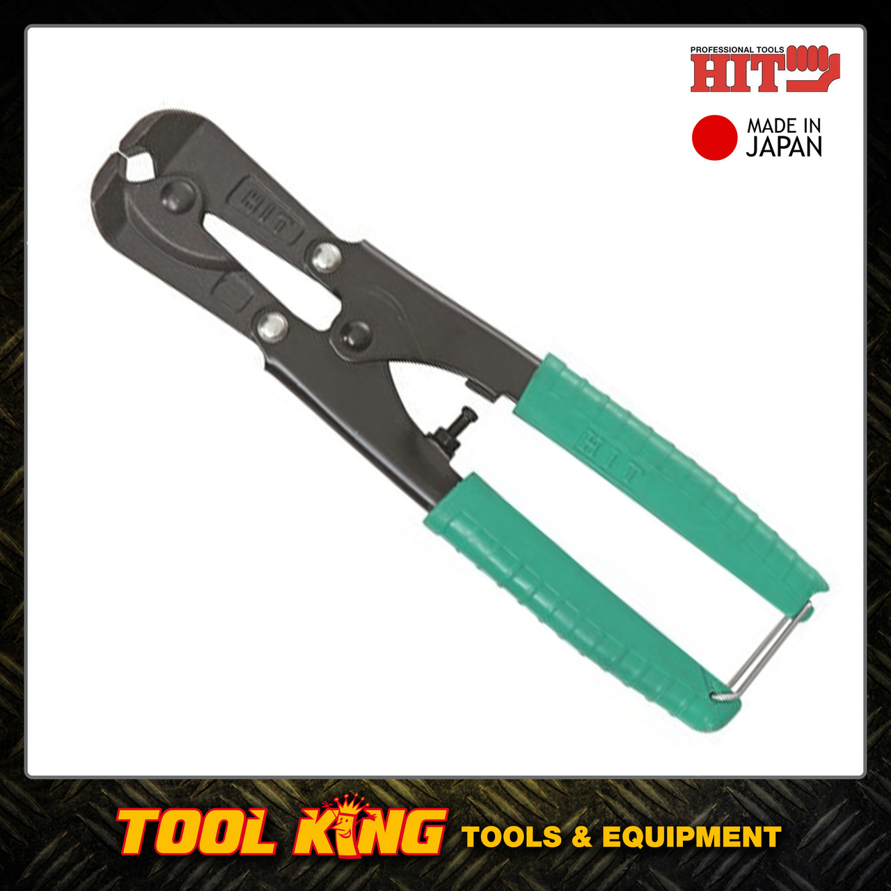 End cutting nippers 200mm HIT Made in Japan