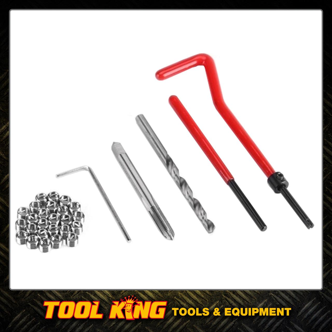 Thread repair helicoil insert kit M8 x 1.25