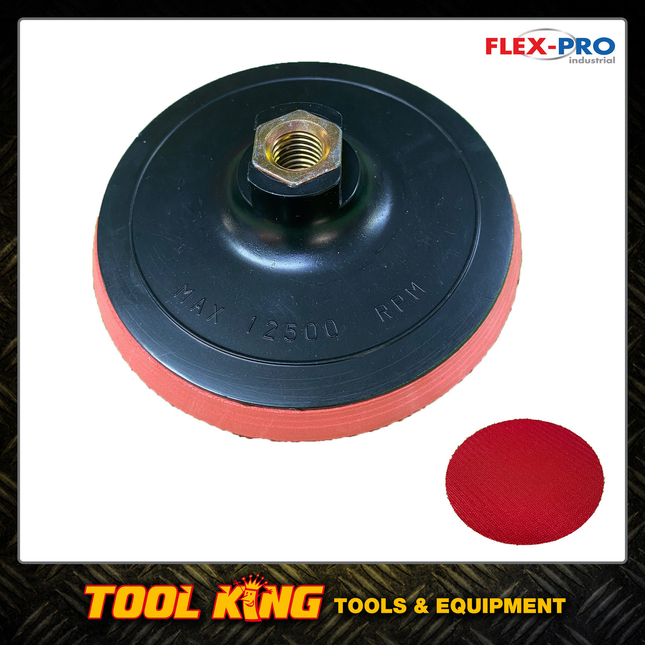 """125mm Backing pad for sanding discs to suit 5"""" angle grinders"""