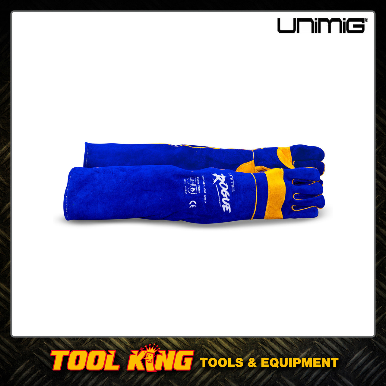 Extra long Welders Gloves UNIMIG Rogue