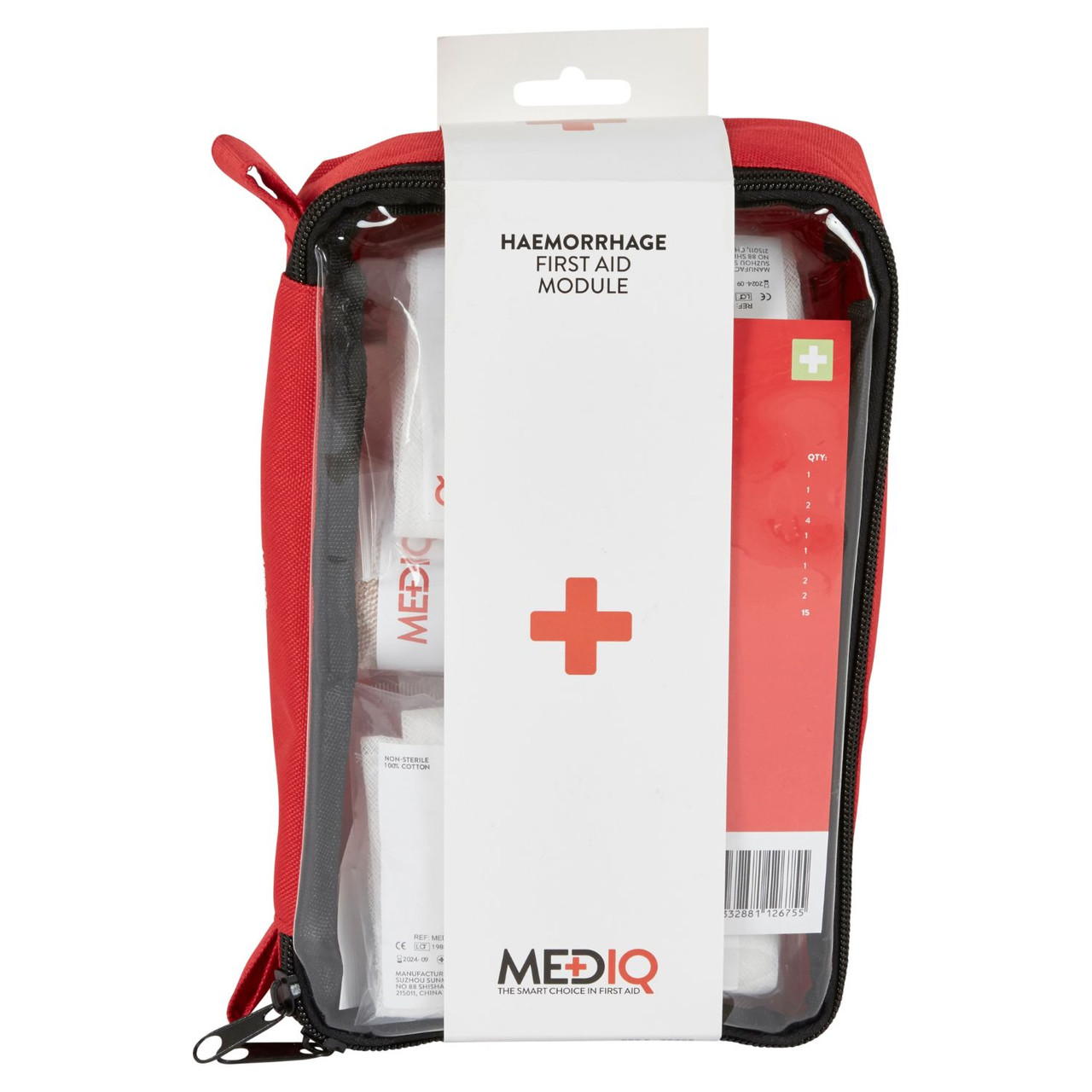 First Aid Kit Haemorrhage major bleeding Module MEDIQ