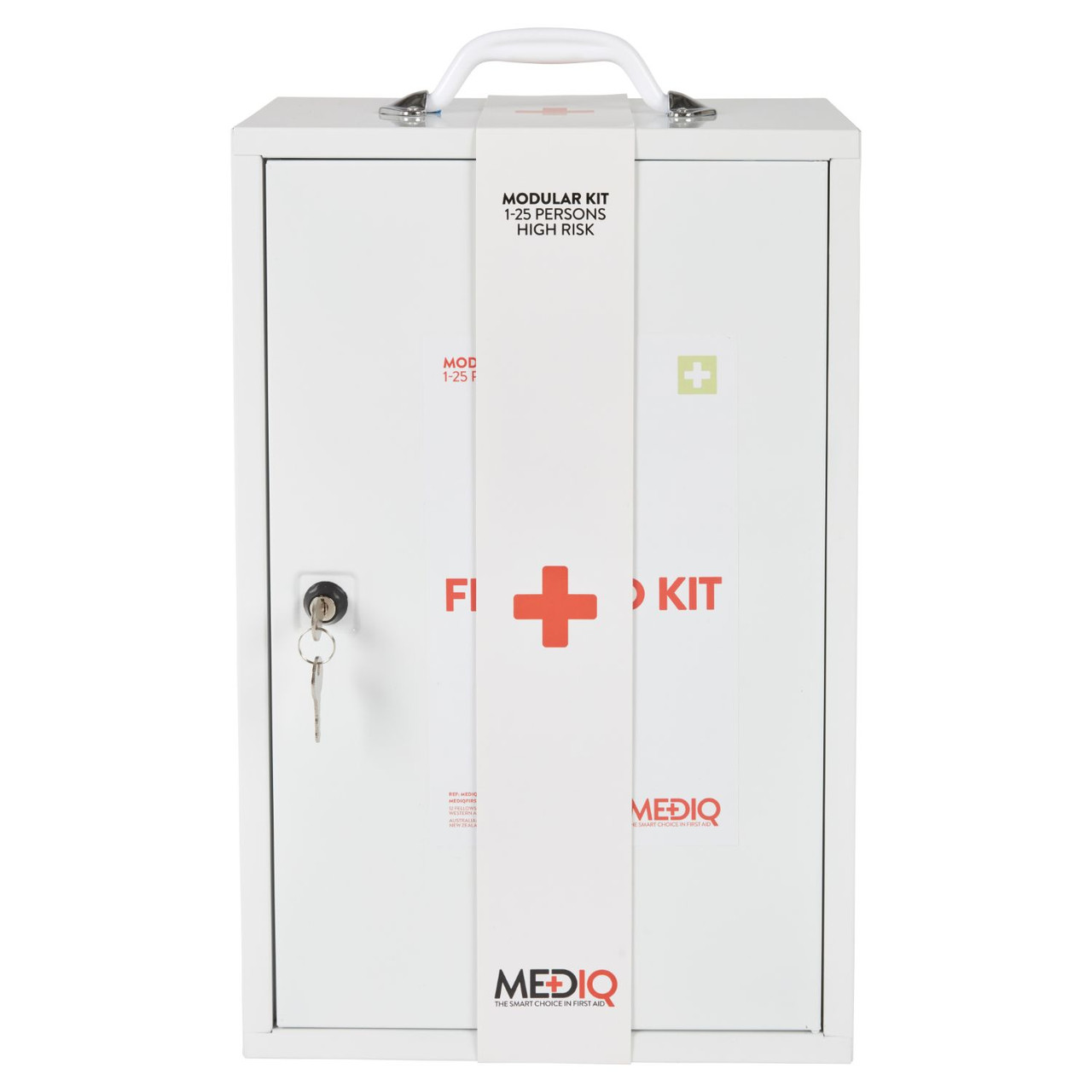 First Aid Kit Workplace wall cabinet 1-25 people High risk  MEDIQ