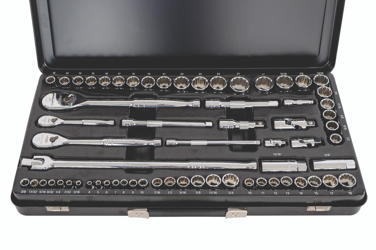 GEARWRENCH 64pc Metric & Sae socket set