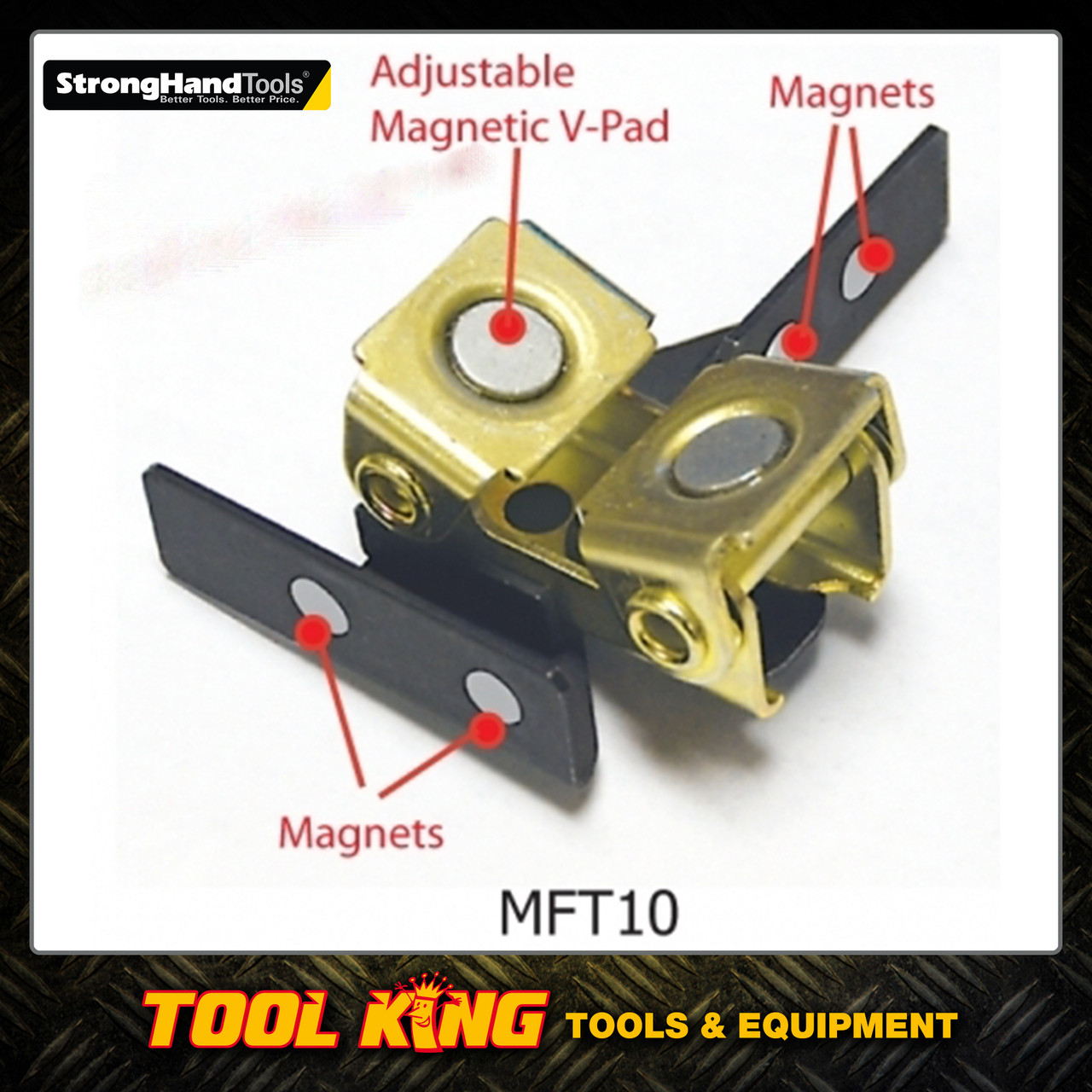 MAG TAB magnetic welding clamp