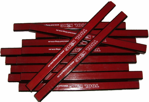 Carpenters Pencils 12pc pack