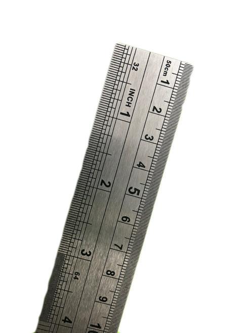RULER Stainless steel 50cm (500mm)