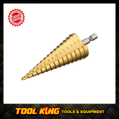 Step Drill 4mm to 32mm  TRADE QUALITY