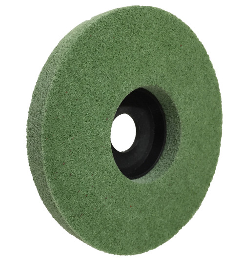 "Polishing Disc for metal 5"" green 400g FLEX-PRO"