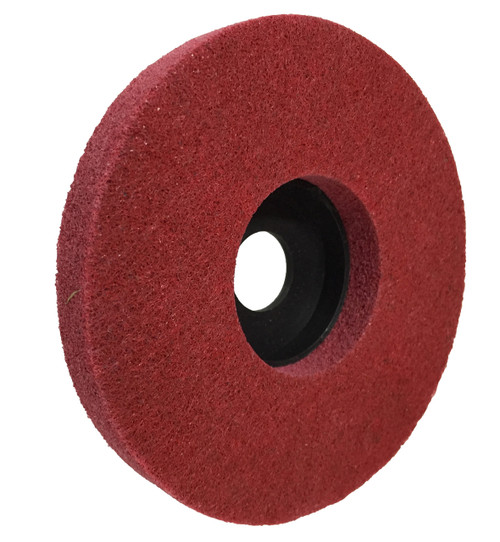 "Polishing Disc for metal  5"" red 240g FLEX-PRO"