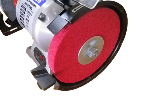 "Polishing Disc for metal 8"" red 240grit FLEX-PRO"