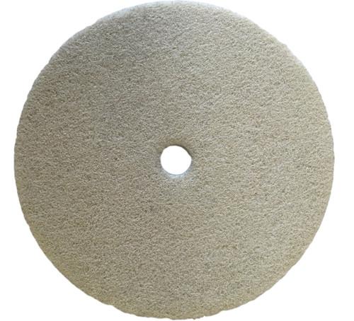 """Polishing disc for metal 8"""" white 600gritt FLEX-PRO"""