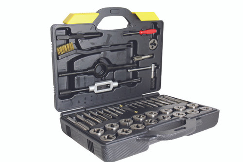 TAP AND DIE SET 42pc Metric Made in Europe